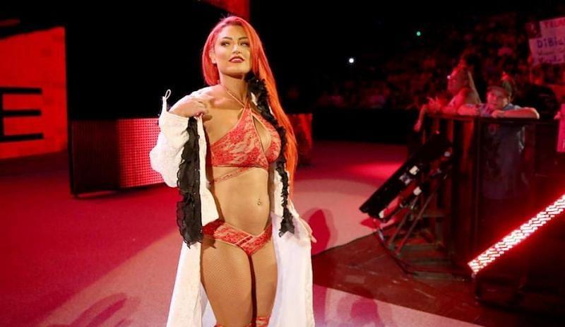 Eva Marie faz o seu retorno aos ringues da WWE