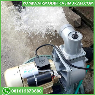 Pompa Air modifikasi Jet 1000 Kolam Ikan