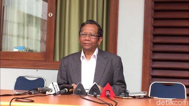 Mahfud MD Mengamini Pernyataan Ketua MPR yang Sebut 5 Fraksi DPR Setujui LGBT