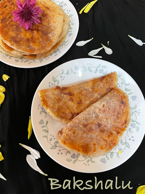 Bobbatlu / Bakshalu / Puran Poli ( Andhra Style )