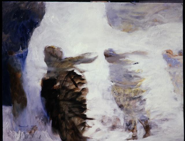 Bernard Arnest   Painting of Afghanistan Windblown People