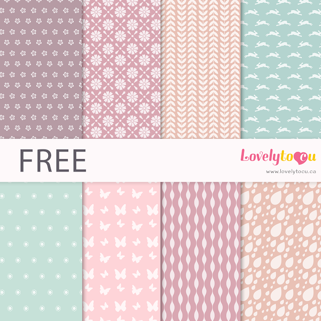 Free seamless scrapbooking paper backgrounds