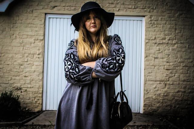 Photo of Zara grey tunic dress