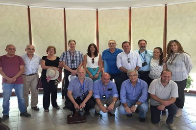 Delegación uruguaya en Kibutz Ein Hashloshá