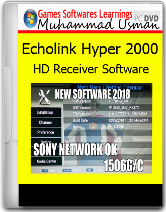 Set Dish TV: Echolink Hyper 2000 HD Receiver PROTOCOL 4MB 1506G/C HD