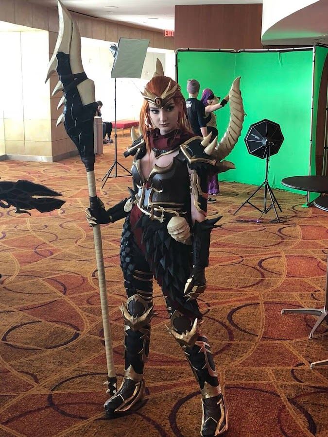 skadi dragonkin smite haiden hazard cosplay
