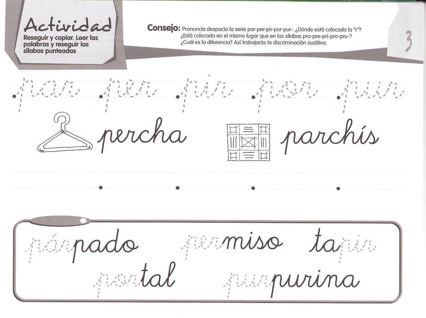 Lectoescritura Y Grafomotricidad Infantil Recursos Y Materiales