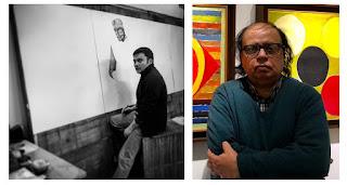 """आर्ट टॉक के 9वें एपिसोड में चित्रकार फणीन्द्र के साथ विनोद भारद्वाज होंगे """"   #NayaSaberaNetwork"""