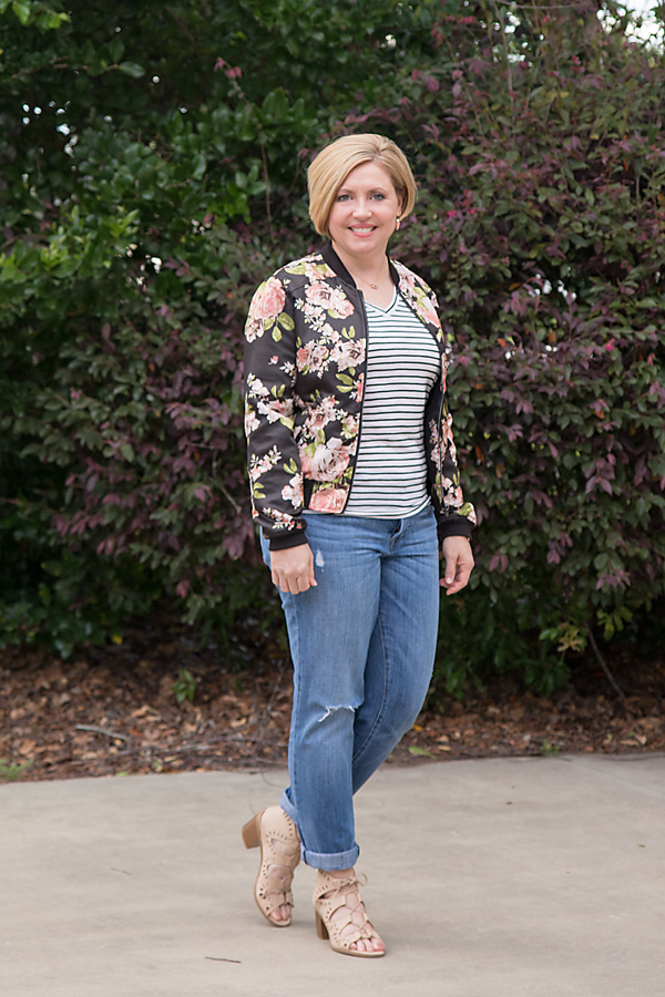 Bomber, stripes and Friday Favorites