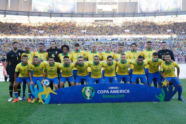 DE VOLTA AO TOPO!! Brasil vence o Perú e conquista Copa América
