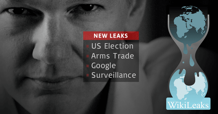 WikiLeaks Promises to Publish Leaks on US Election, Arms Trade, Google and Surveillance