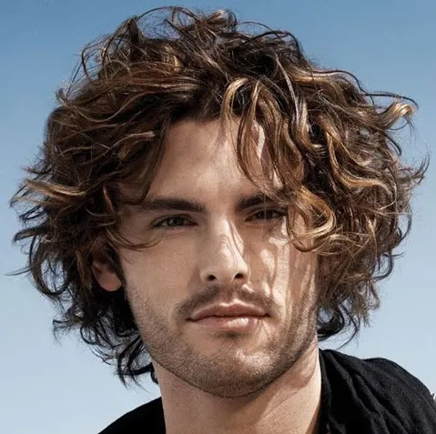 شعر رجالي كيرلى