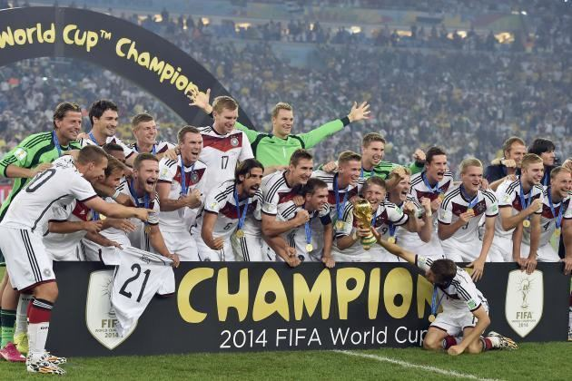2014 FIFA World Cup winners