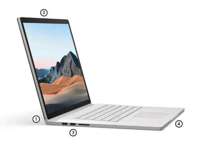 Microsoft Surface Book 3 With 32GB RAM &127W Charger Unleashed
