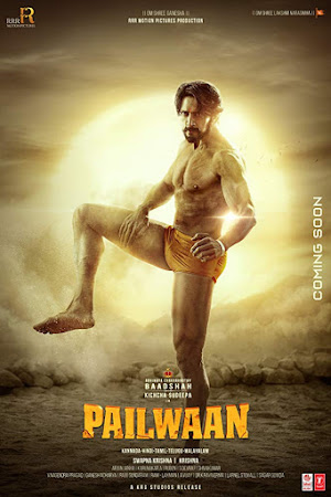 Poster Of Hindi Movie Pailwaan 2019 Full HD Movie Free Download 720P Watch Online