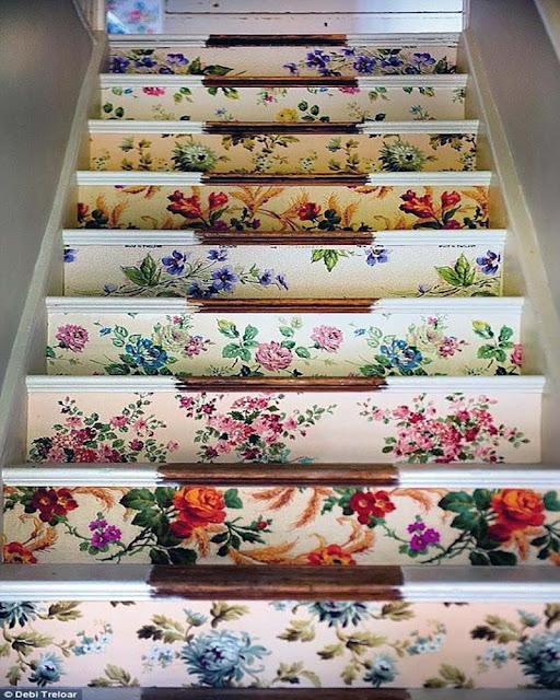 inspiration décoration escalier contremarche