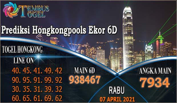 Prediksi Togel Hongkong Ekor6D- Rabu Tanggal 07 Maret 2021