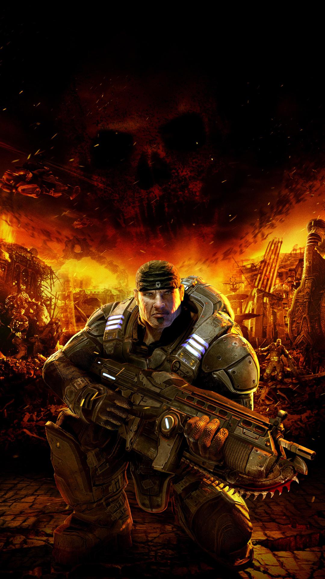 Gears Of War Cool Game Wallpaper