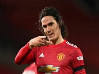 Manchester United nampaknya bakalan kehilangan juru gedornya, Edinson Cavani pada musim panas nanti.