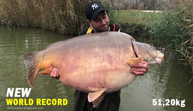 Šaran - Novi svjetski rekord 51,20kg
