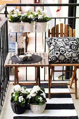 Bahçe, Balkon,Çİçek Tasarımları