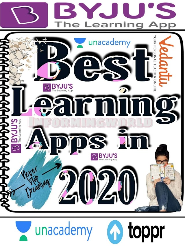 Best learning apps in 2020 | informingworld.com