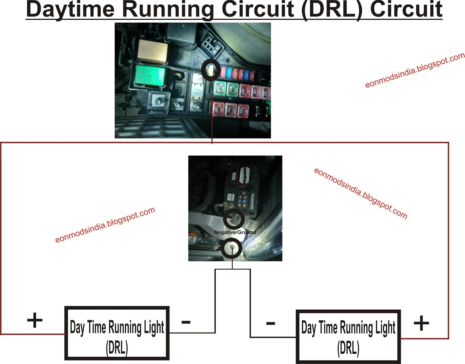 hight resolution of drl circuit
