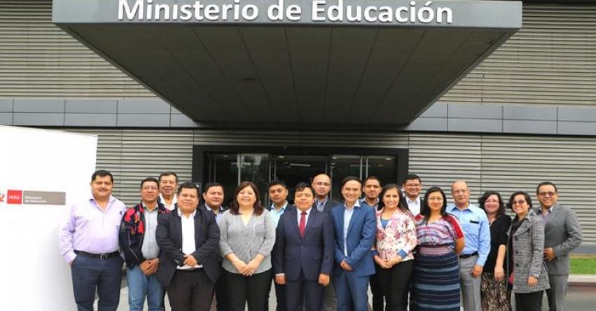MINEDU: Funcionarios de Guatemala conocerán proyectos educativos de Piura y Ayacucho - www.minedu.gob.pe