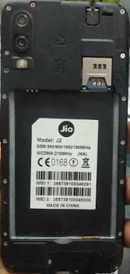 Jio J2 (MA) Flash File