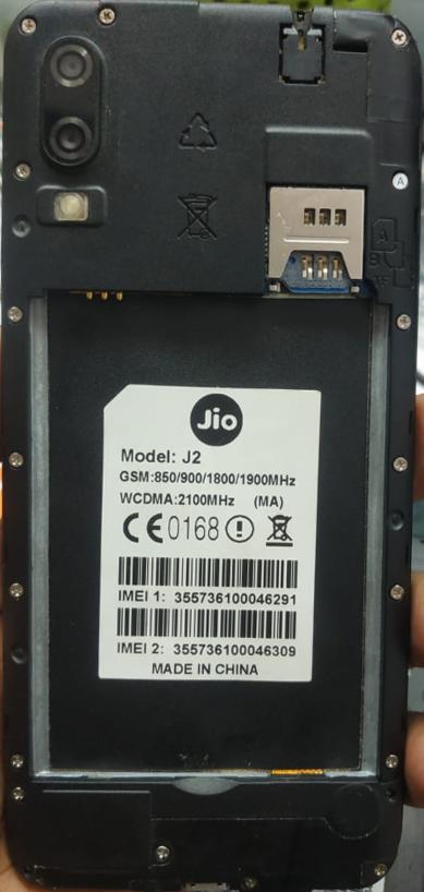 Jio J2 (MA) Flash File MT6580 Firmware