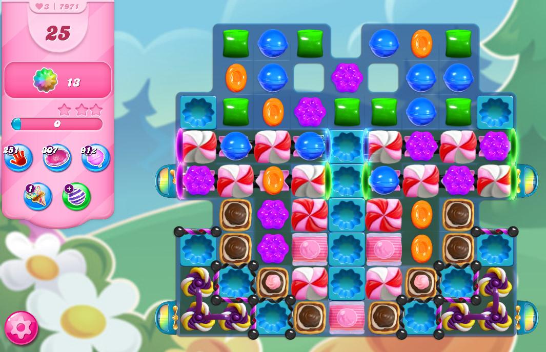 Candy Crush Saga level 7971
