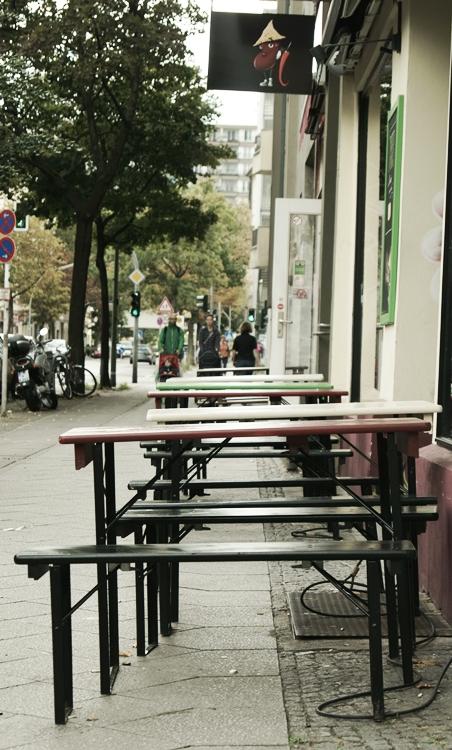 Blog + Fotografie by it's me! - Bloggertreffen in Berlin - Winterfeldtmarkt Schöneberg, Außengastronomie