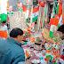 गणतंत्र दिवस के चलते तिरंगे की जमकर हुयी खरीददारी