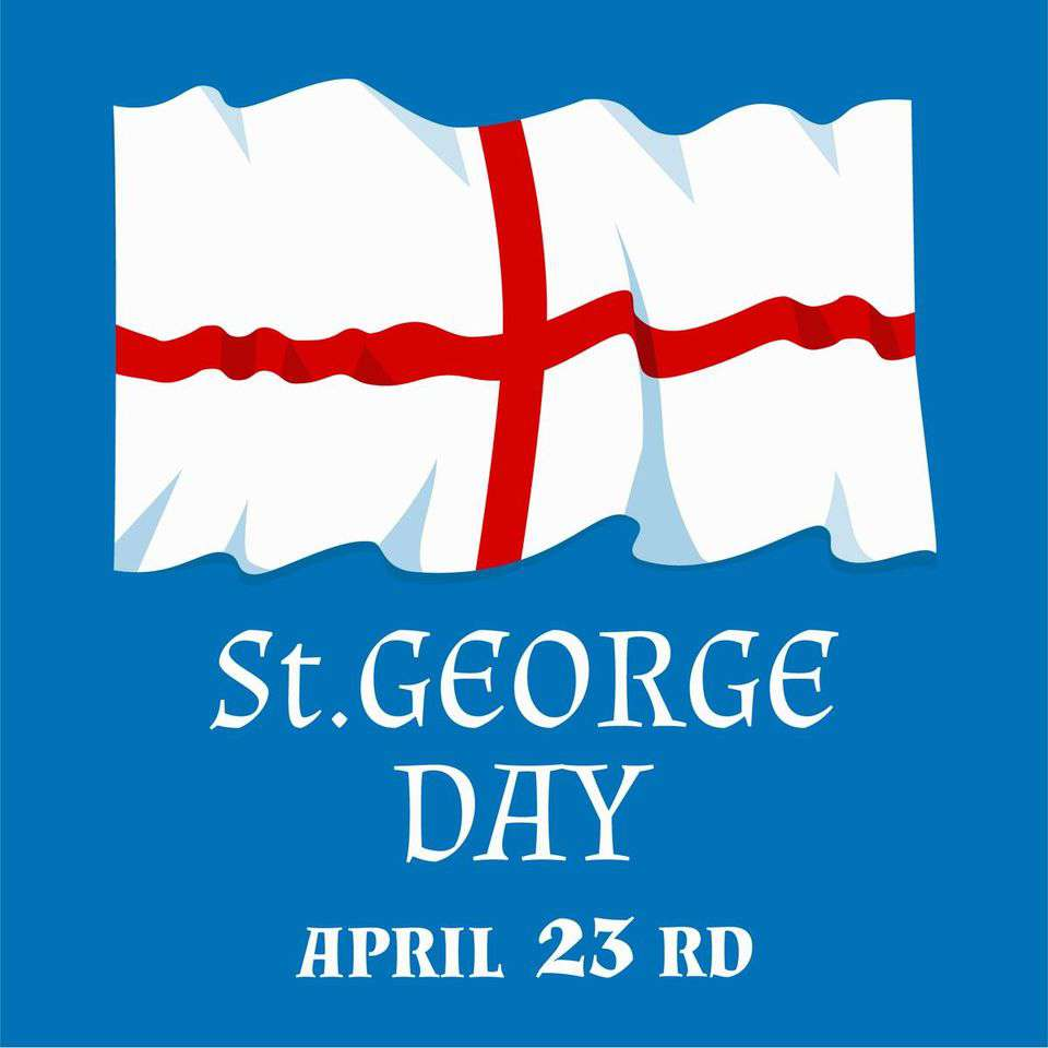 St. George's Day Wishes For Facebook