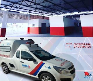 Itiruçu: Prefeitura entrega Mercado Municipal e ambulância para Upabuçu