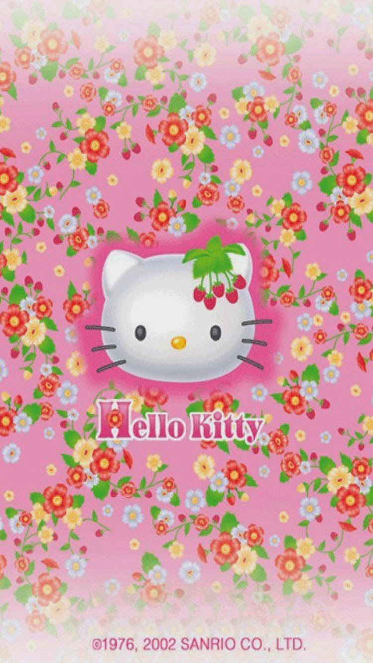 Pink Hello Kitty Wallpaper Hello Kitty Wallpaper For Iphone 6