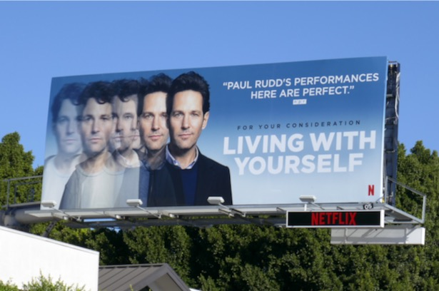 Living With Yourself 2019 FYC billboard