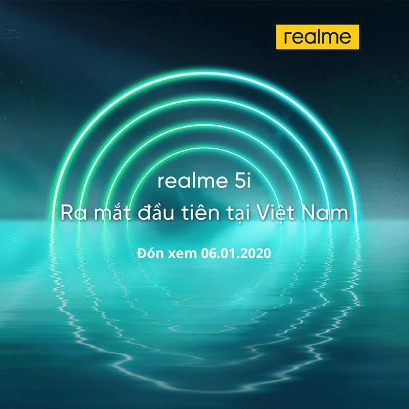 Realme Vietnam's 5i teaser