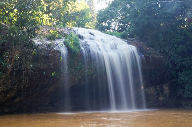 Contemplate the magnificient beauty of waterfalls in Dalat