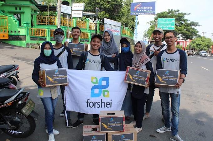 Forshei Peduli Galang Dana untuk Lampung & Banten