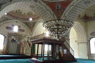 Interior de la Mezquita Dzhumaya.
