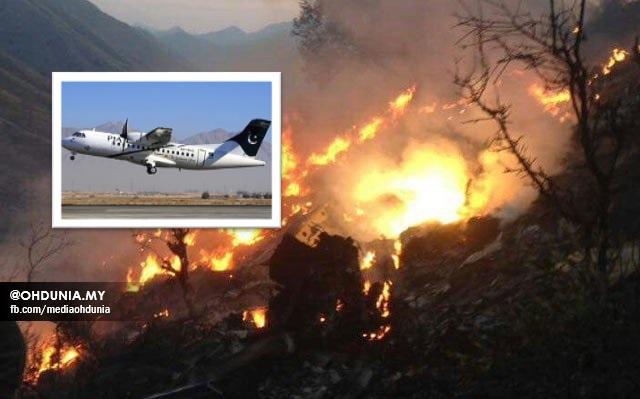 Tiada Yang Terselamat Dalam Nahas Pesawat Di Pakistan