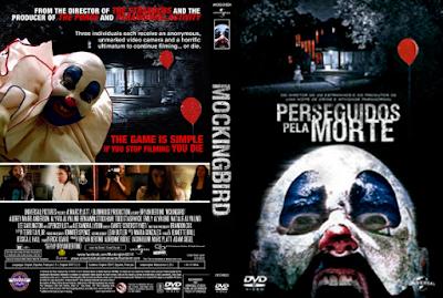 Filme Perseguidos Pela Morte (Mockingbird) DVD Capa