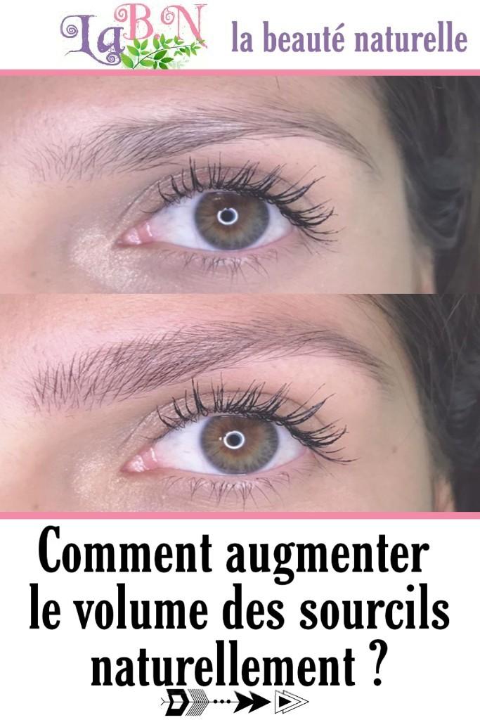 Comment augmenter le volume des sourcils naturellement ?