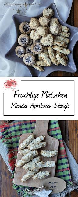 Aprikosen-Mandel-Stängli {Weihnachtsbäckerei} | Backen | Rezept | Weihnachten