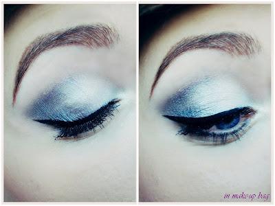 makijaż świąteczny grafitowe smoky eyes