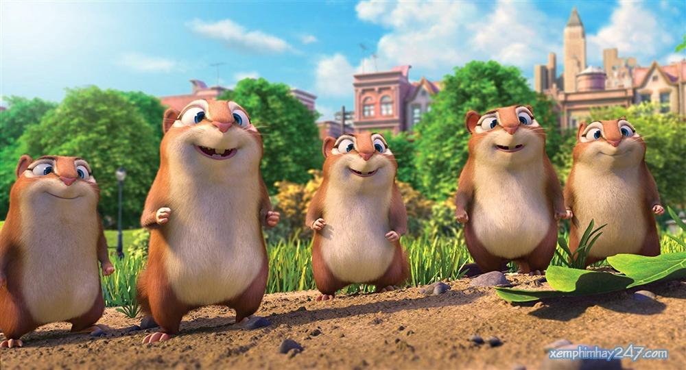 http://xemphimhay247.com - Xem phim hay 247 - Phi Vụ Hạt Dẻ 2: Công Viên Đại Chiến (2017) - The Nut Job 2: Nutty By Nature (2017)