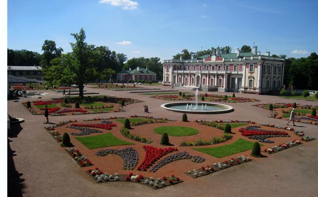 Palacio barroco construido por el zar Pedro I