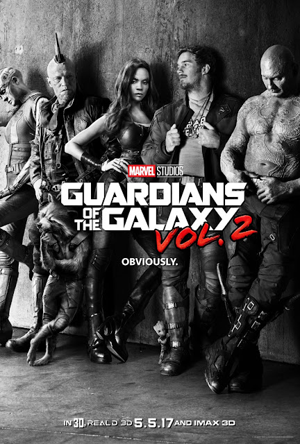 Guardians of the Galaxy Vol. 2 Teaser One Sheet Movie Poster