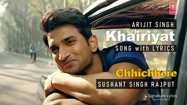 Arijit Singh - Khairiyat Lyrics | Chhichhore